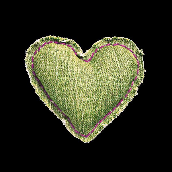 cuore_stoffa_verde